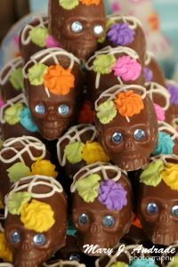 Chocolate skulls, Patzcuaro, Michoacan