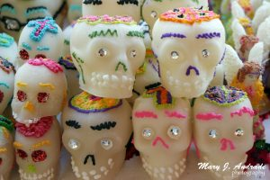 Sugar skulls, Patzcuaro, Michoacan