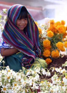 Children parade, Tzintzuntzan, Michoacán