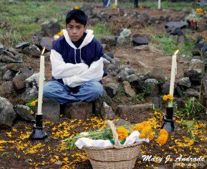 Vigil of the Little Angels, islad of Pacanda, Michoacan.