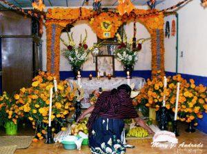Altar, Santa Fe de la Laguna