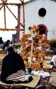 Vigil, Cemetery of Janitzio