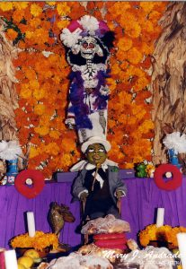 Altar en el Museo Estudio Diego Rivera