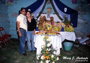 Altar San Pedro Zacán.