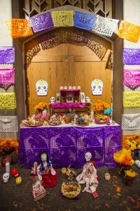 Altar, Día de los Muertos en Denver, Colorado.