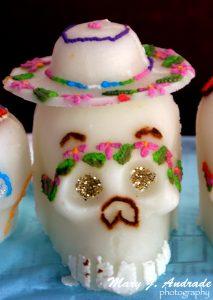 Sugar skull, Patzcuaro, Michoacán.