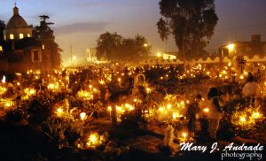 Cemetery of Mixquic, DF.