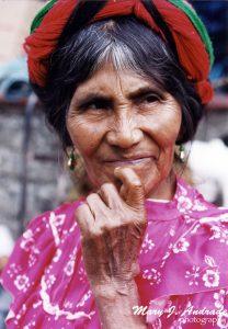 Huastecan woman.