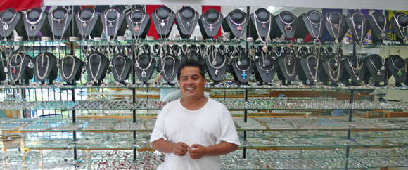 Silver is big business for Nacho Salazar at Ixtapa Jewelers